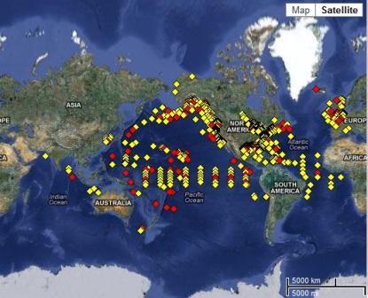 Bouy untuk gelombang tsunami