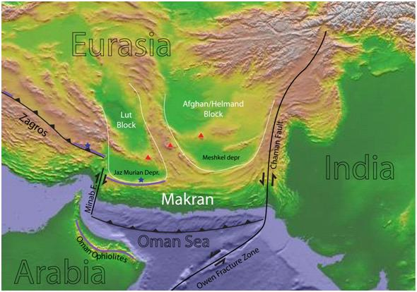 tatanan tektonik pakistan