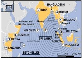 Bencana Alam Tsunami Mematikan di Abad-21