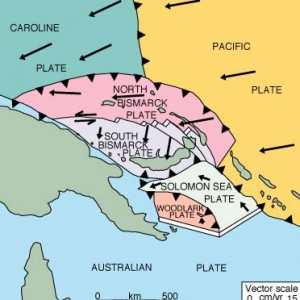 Tatanan tektonik kepulauan solomon (Sumber: www.volcano.oregonstate.com)