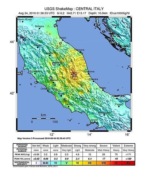 gempa italia 2016