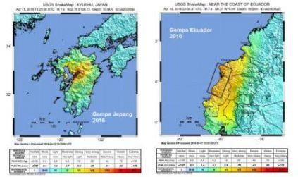 5 Persamaan & Perbedaan Gempa Jepang dgn Ekuador