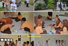 school watching in Aceh