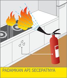 kebakaran akibat gempa