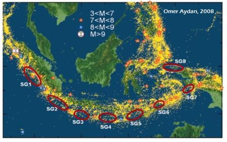 sumber gempa seluruh indonesia