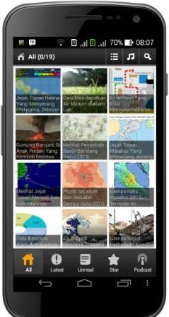 7 Aplikasi Android Dalam Bidang Kebencanaan