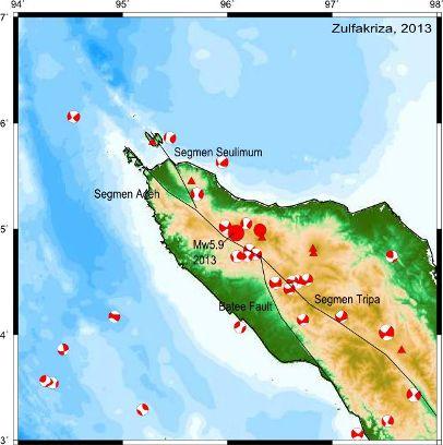 Gempa Mane-Geumpang Bukan Gempa Sesar Pertama