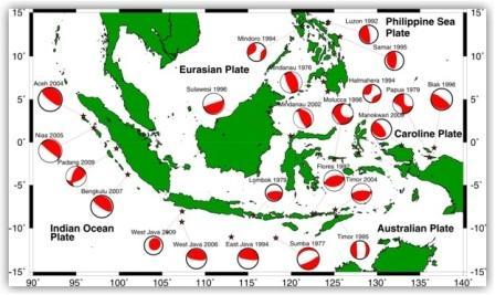 Sumber Tsunami Indonesia