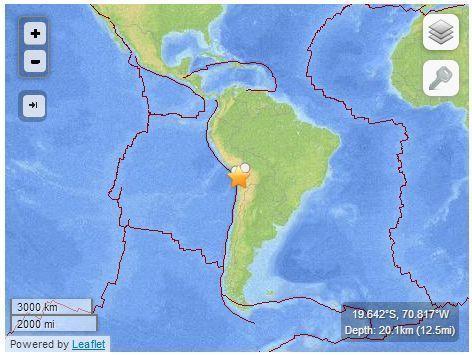 gempa chili 2014