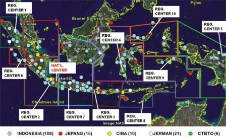 jaringan seismometer indonesia