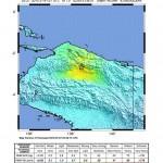 intensity of papua earthquake