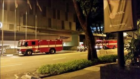 Kebakaran Hotel di Singapura, 350 Tamu Dievakuasi