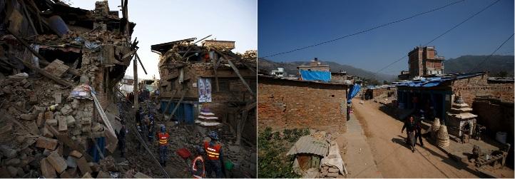nepal setelah gempa