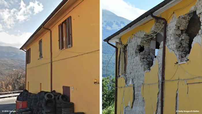 kerusakan akibat gempa