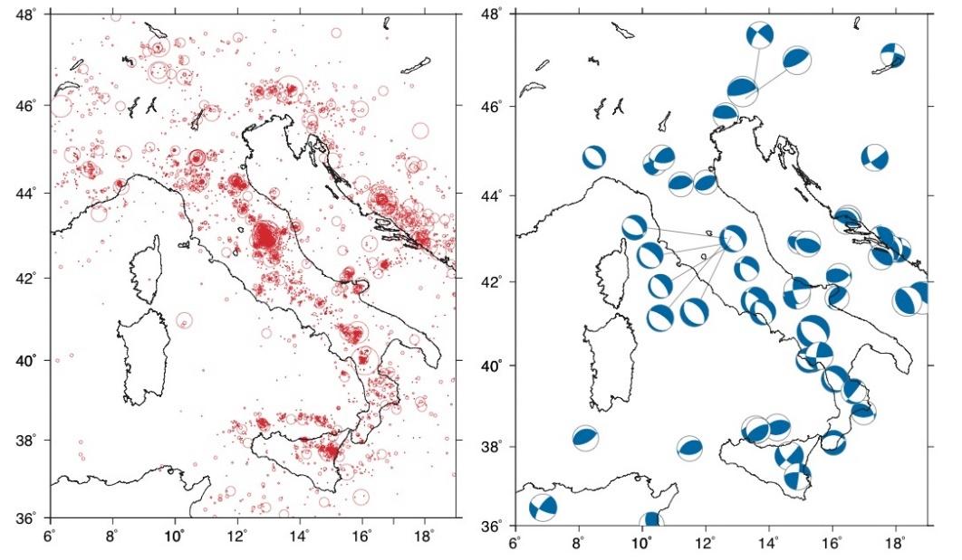 sejarah gempa di italia