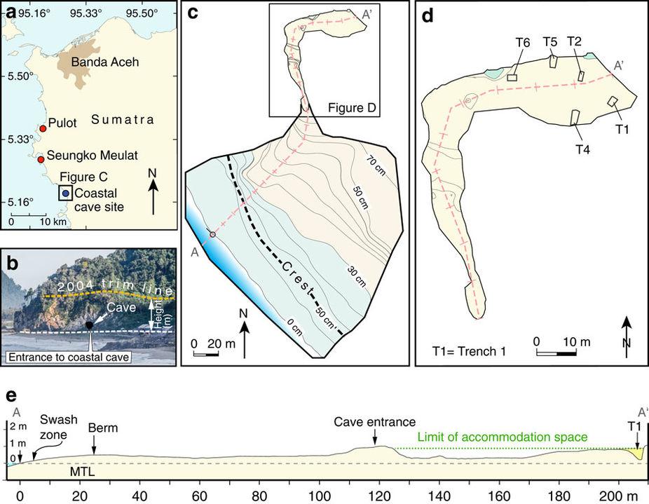 Bagaimana Gua Merekam Tsunami Aceh 7.400 Tahun Lalu