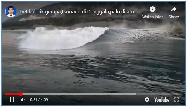 penyebab tsunami palu