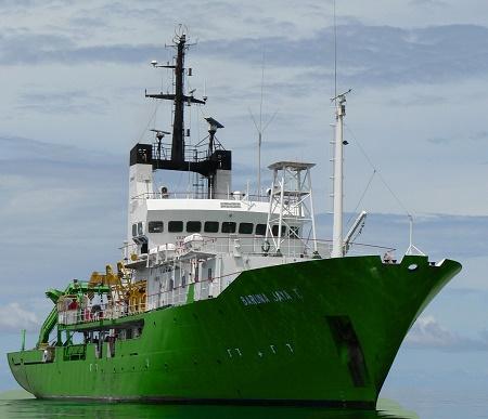 kapal Baruna Jaya I BPPT