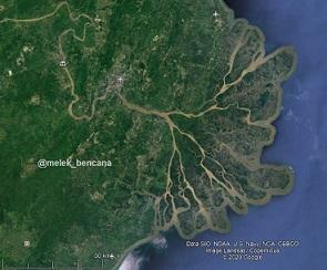 Delta Mahakam di Pulau Kalimantan