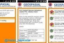 Geospasial BNPB Android