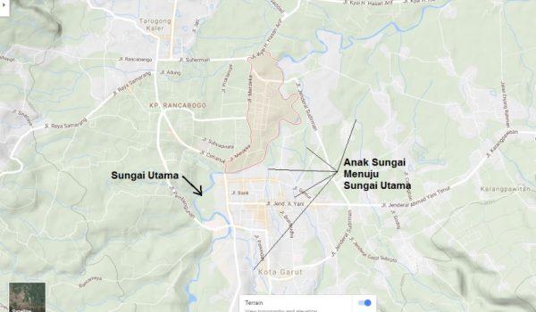 Melihat Penyebab Banjir Bandang Garut 2016 Berdasarkan Peta