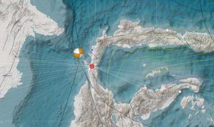 Gempa Palu 28 September 2018 yang Memicu Tsunami