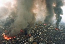 kebakaran gempa jepang 1995