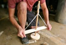 membuat-api-dengan-pump-drill
