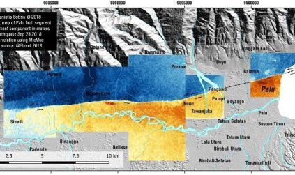 Daratan Sulawesi Tengah yang Bergeser Setelah Gempa Bumi