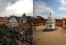 reruntuhan di kuil