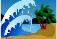 kartun tsunami